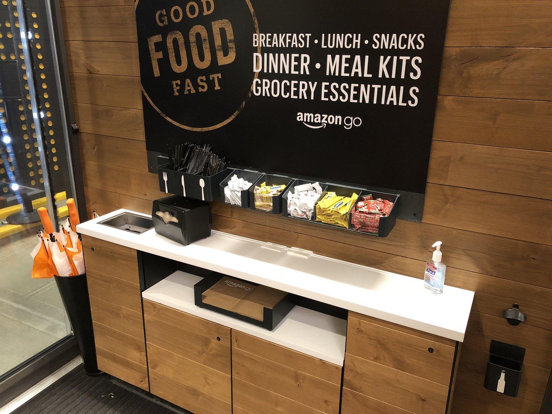 Покупки в Amazon Go - 38