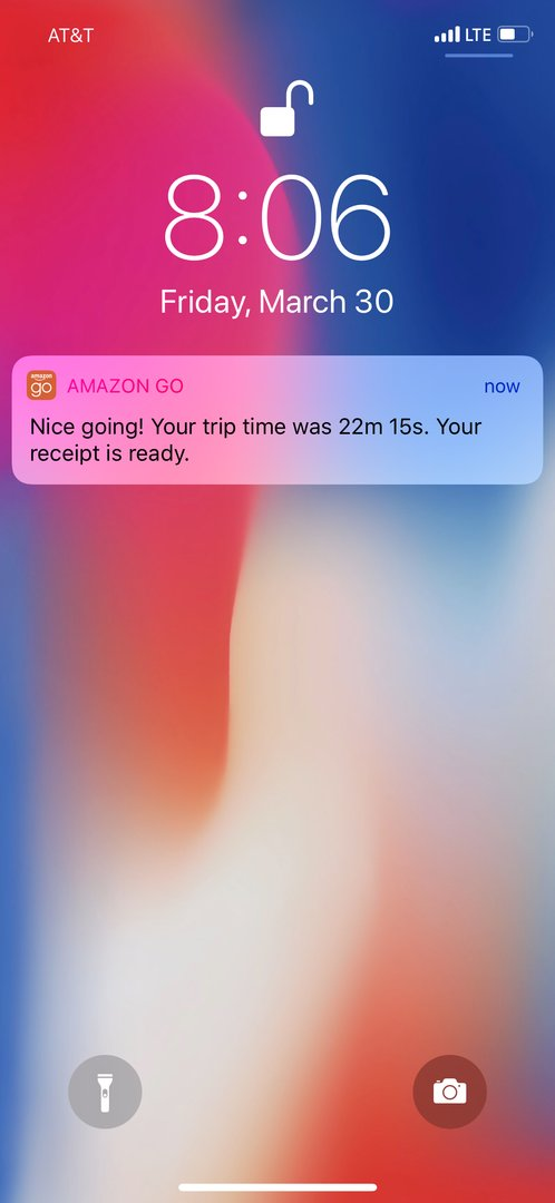 Покупки в Amazon Go - 41