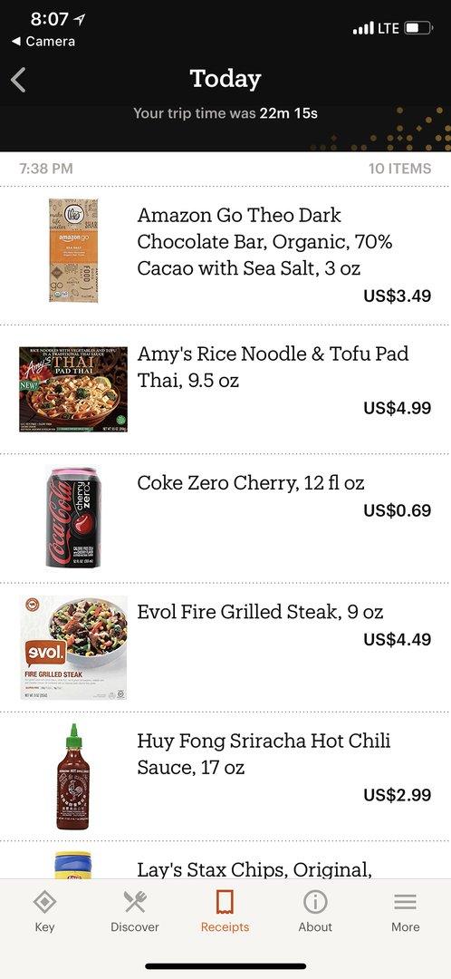 Покупки в Amazon Go - 42