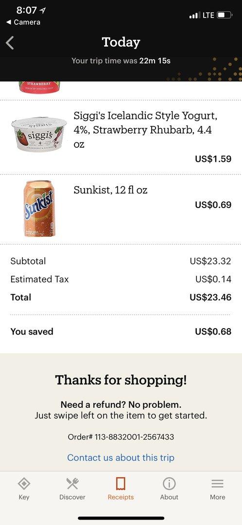 Покупки в Amazon Go - 44