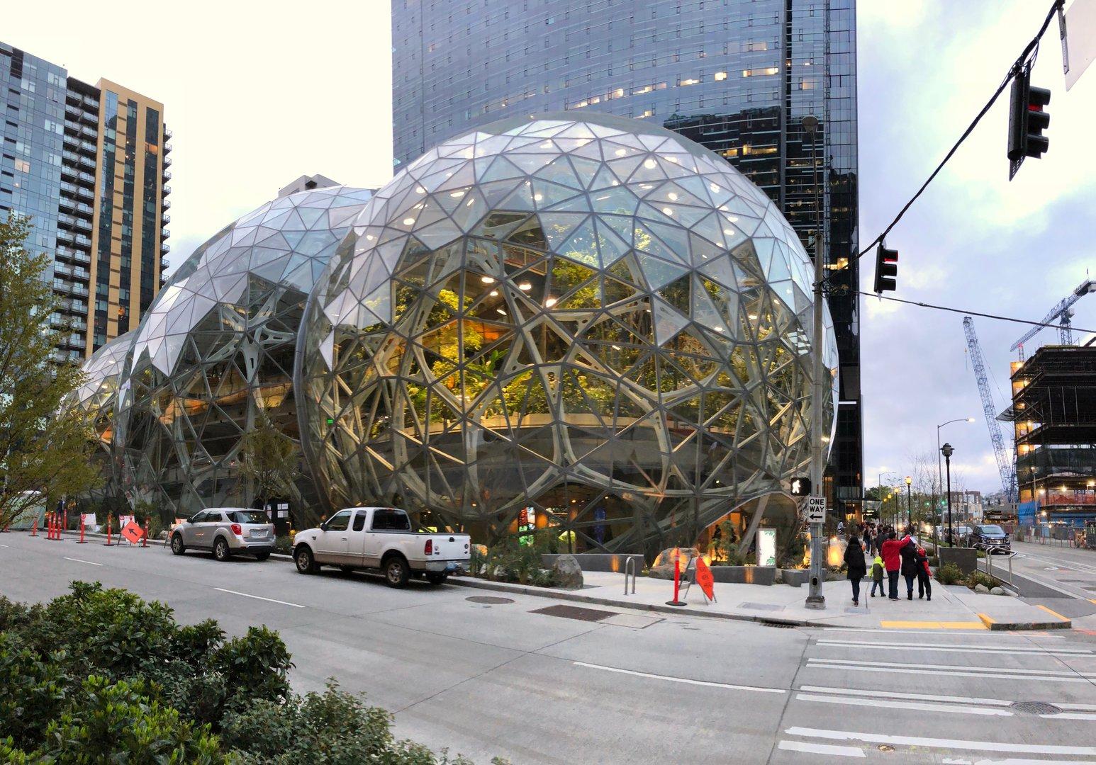 Покупки в Amazon Go - 1