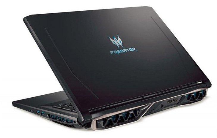 В оснащение ноутбука Acer Predator Helios 500 вошли шестиядерные процессоры Core i7-8750H и Core i9-8950HK - 3