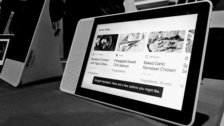 Google выпустит собственное устройство, похожее на Amazon Echo Show - 1