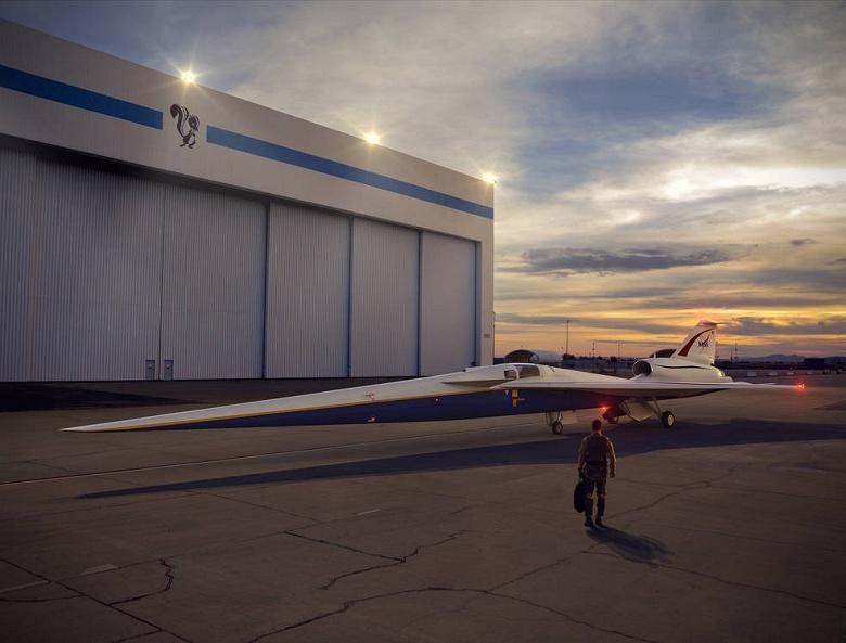 Lockheed Martin создаст для NASA «бесшумный» сверхзвуковой самолёт - 1