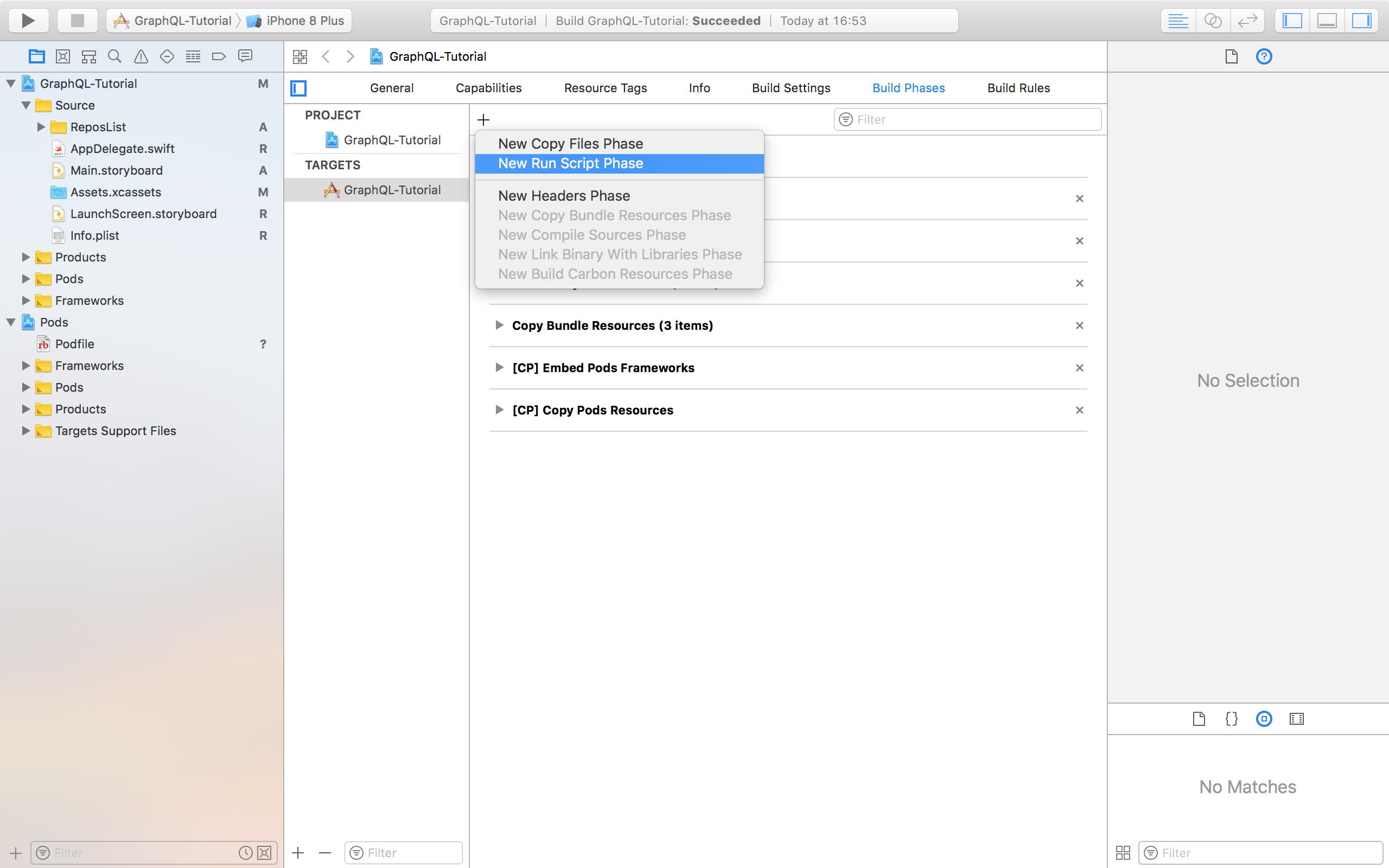 Готовим iOS клиента для GraphQL - 2