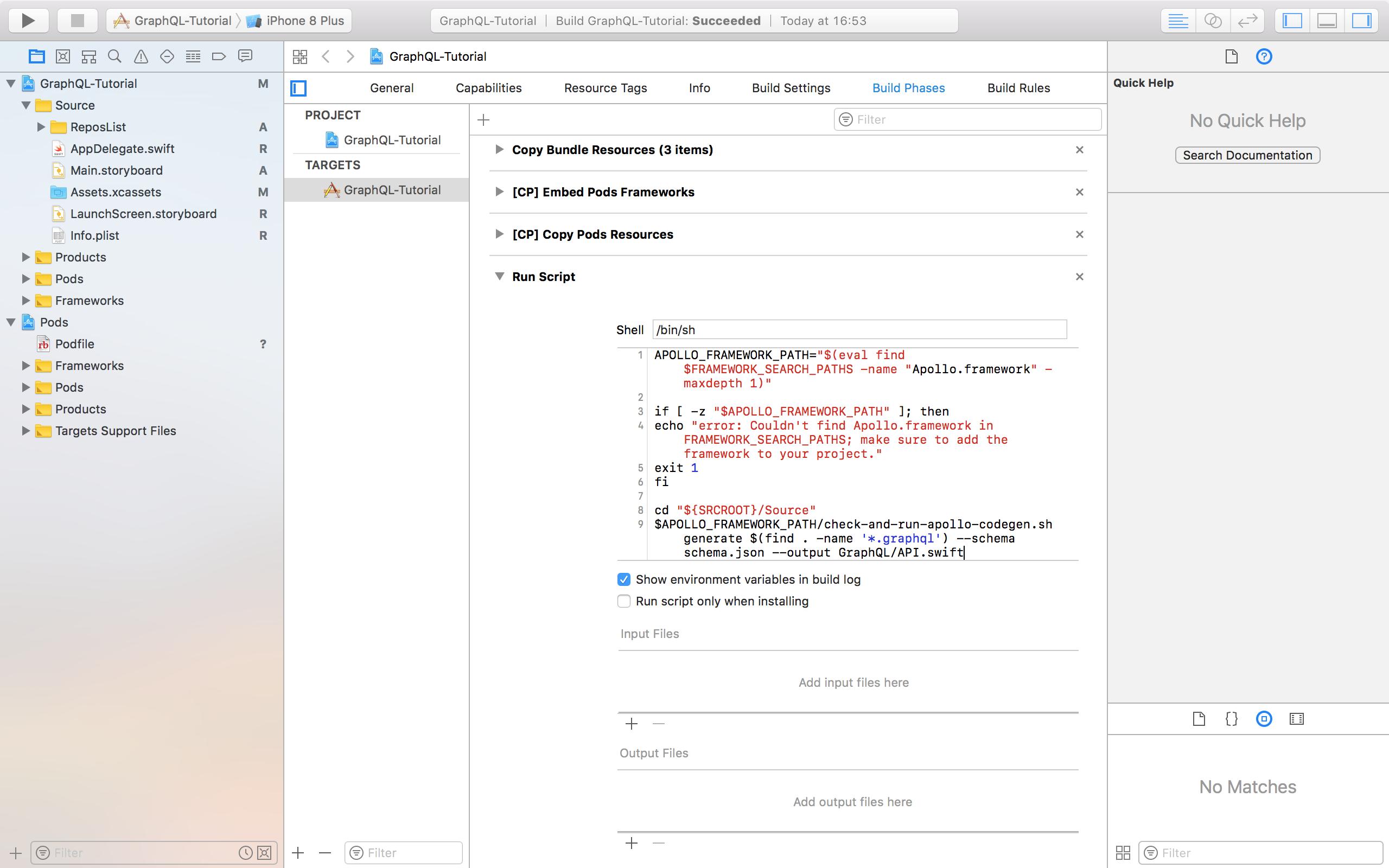 Готовим iOS клиента для GraphQL - 3