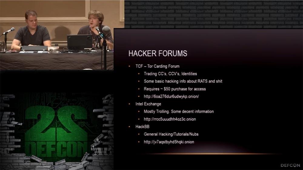 Конференция DEFCON 22. «Путешествие по тёмной стороне Интернет. Введение в Tor, Darknet и Bitcoin» - 16