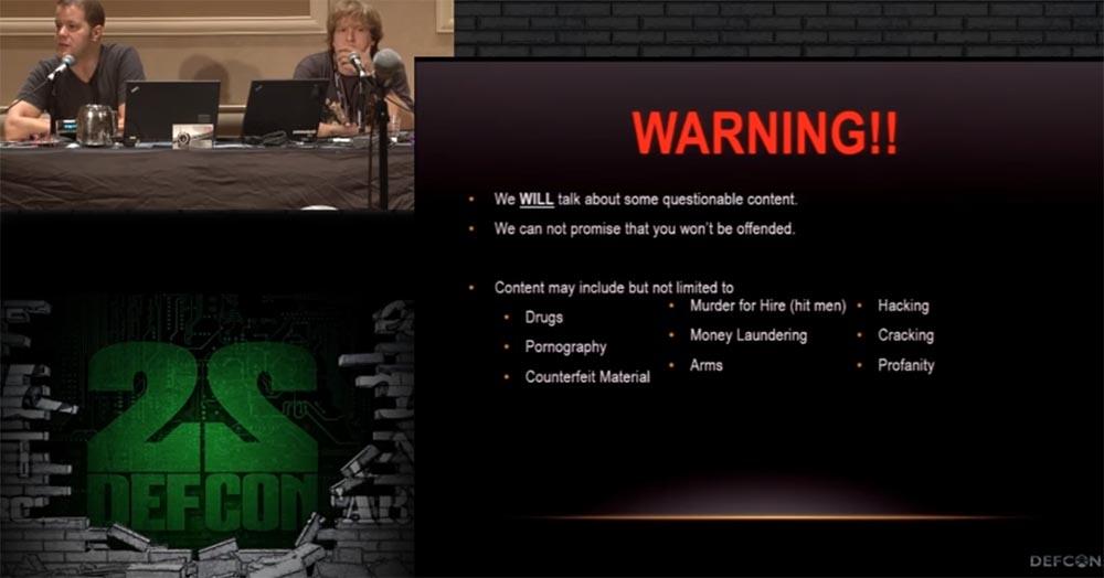Конференция DEFCON 22. «Путешествие по тёмной стороне Интернет. Введение в Tor, Darknet и Bitcoin» - 2