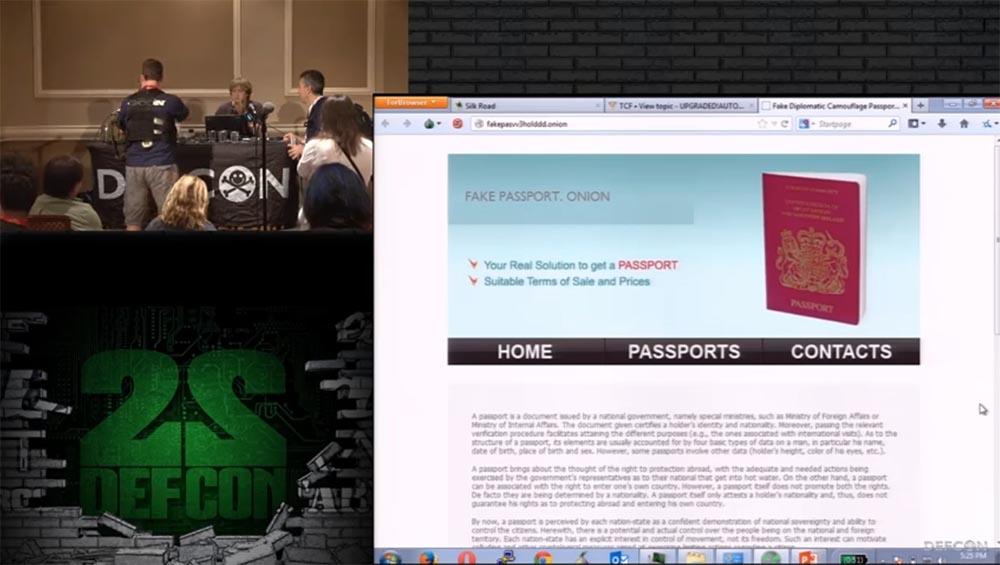 Конференция DEFCON 22. «Путешествие по тёмной стороне Интернет. Введение в Tor, Darknet и Bitcoin» - 22