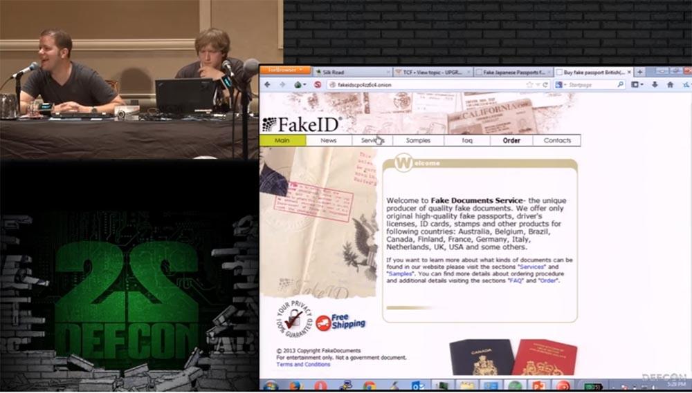 Конференция DEFCON 22. «Путешествие по тёмной стороне Интернет. Введение в Tor, Darknet и Bitcoin» - 24