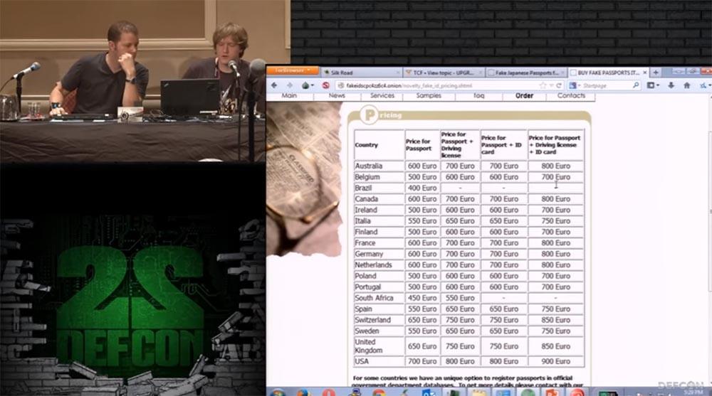 Конференция DEFCON 22. «Путешествие по тёмной стороне Интернет. Введение в Tor, Darknet и Bitcoin» - 25