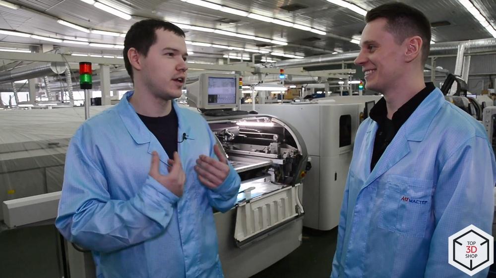 3D-влог #3: Производство 3D-принтеров в России. Обзор и интервью — PICASO 3D - 9