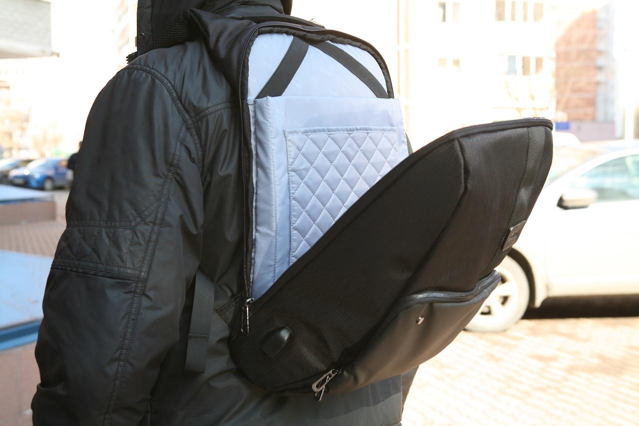 Еще один рюкзак-антивор к новому сезону прогулок в городе - 11