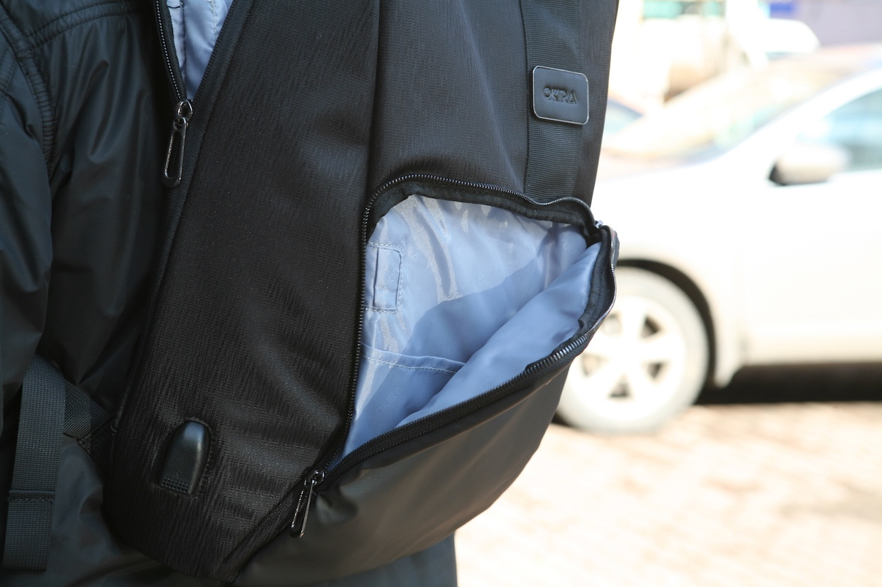 Еще один рюкзак-антивор к новому сезону прогулок в городе - 12