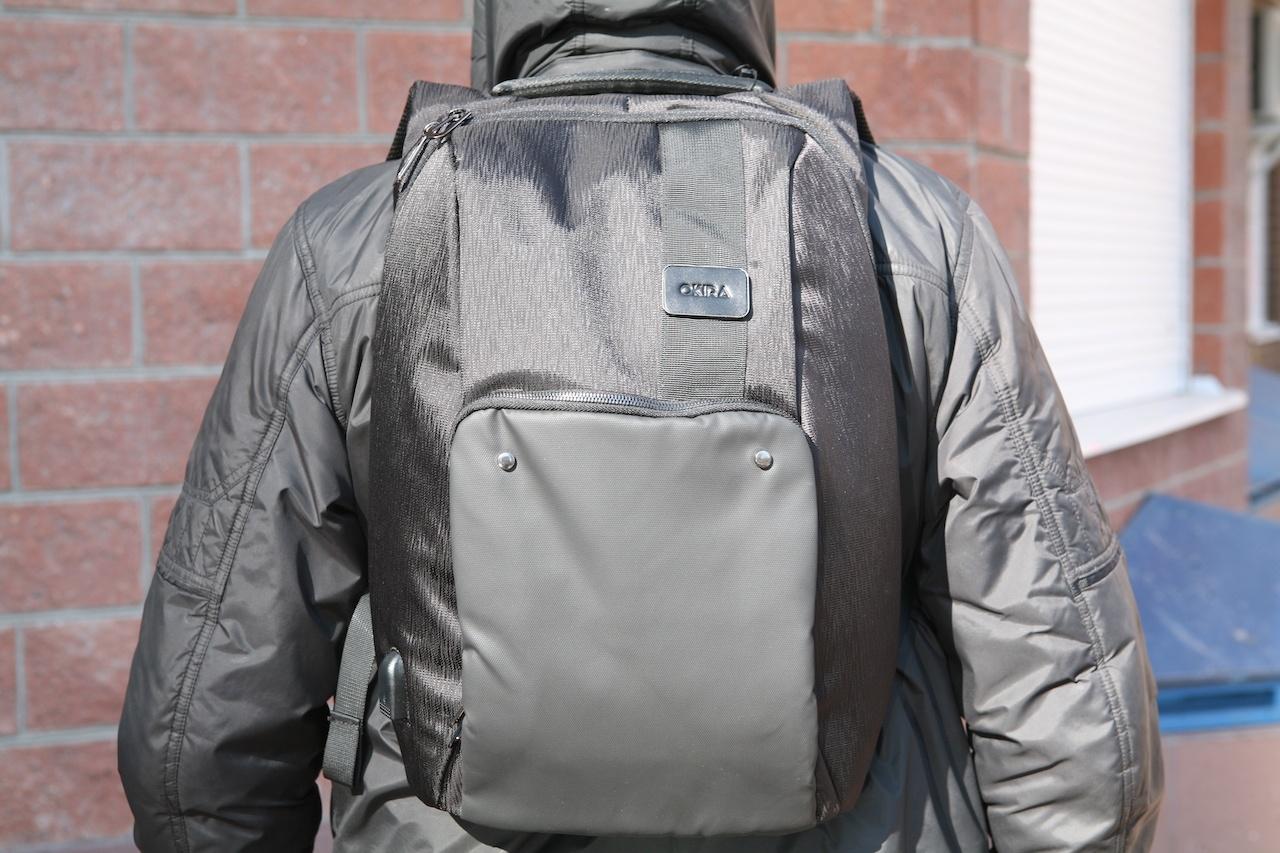 Еще один рюкзак-антивор к новому сезону прогулок в городе - 1