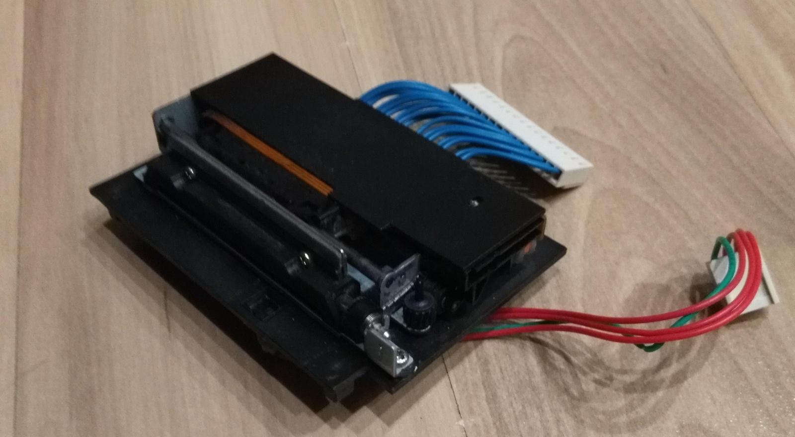 Как подключить матричный принтер MD910 от кассового аппарата Миника - 2