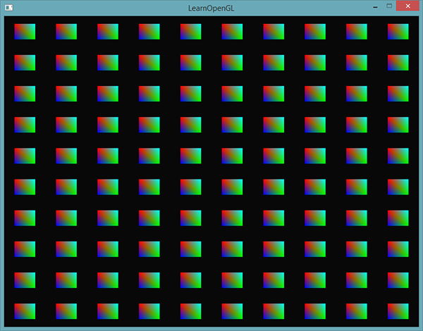 Learn OpenGL. Урок 4.10 — Инстансинг - 3