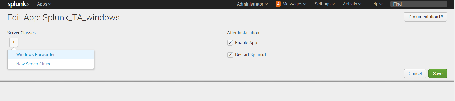 Splunk – Установка агентов для сбора логов Windows и Linux - 13