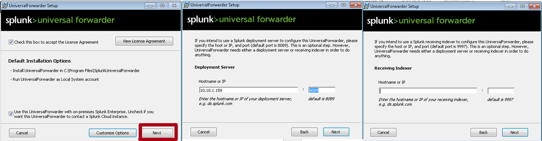 Splunk – Установка агентов для сбора логов Windows и Linux - 7