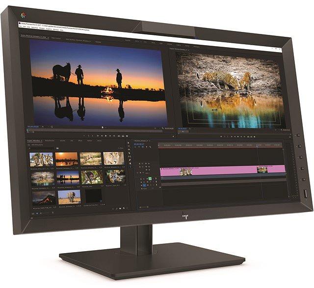 Монитор HP DreamColor Z27x G2 предназначен для ответственной работы с цветными изображениями