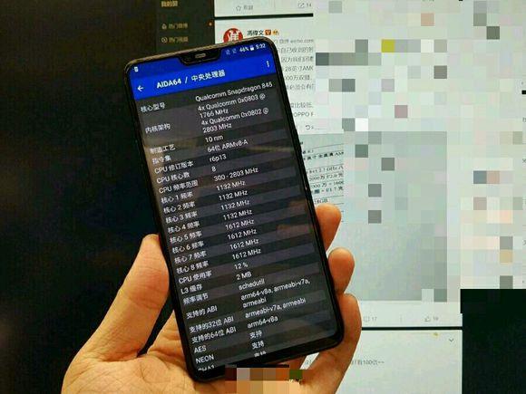 Появилось «живое» фото смартфона OnePlus 6 - 1