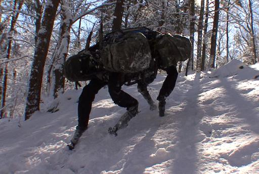 Вспоминаем легенду: как устроен BigDog от Boston Dynamics - 1