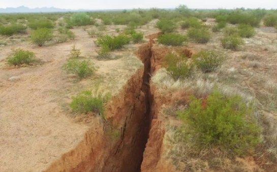 Было опубликовано фото раскола, который делит Африку надвое