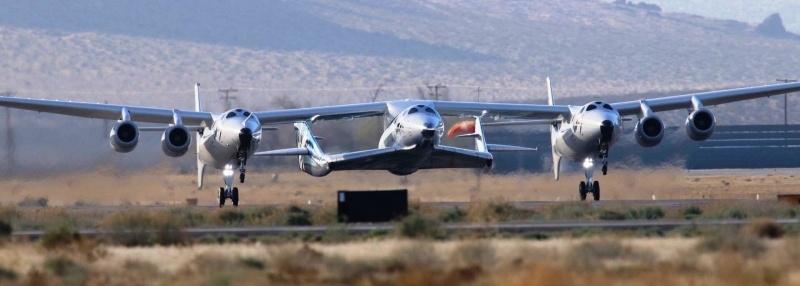 Первые испытания со включением двигателя второго SpaceShipTwo - 2
