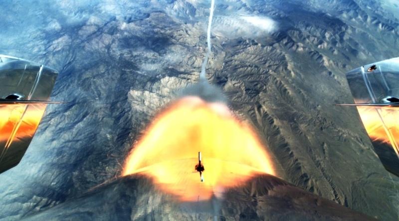 Первые испытания со включением двигателя второго SpaceShipTwo - 1