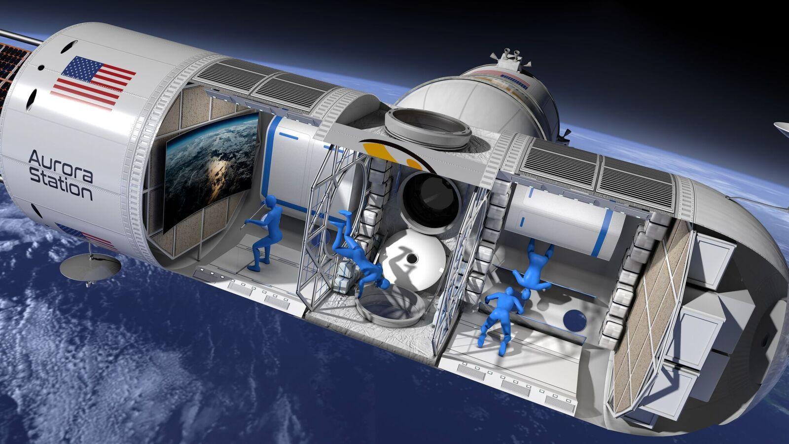 Первый космический отель примет клиентов в 2022 году - 1