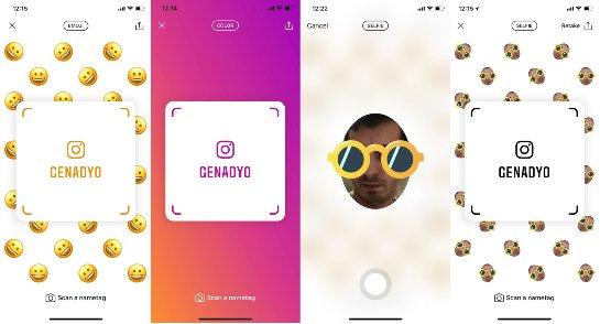 Instagram проверяет копию кода друзей в Snapchat