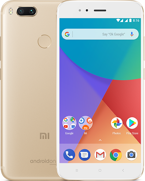 Xiaomi Mi A1 выполнен по программе Android One