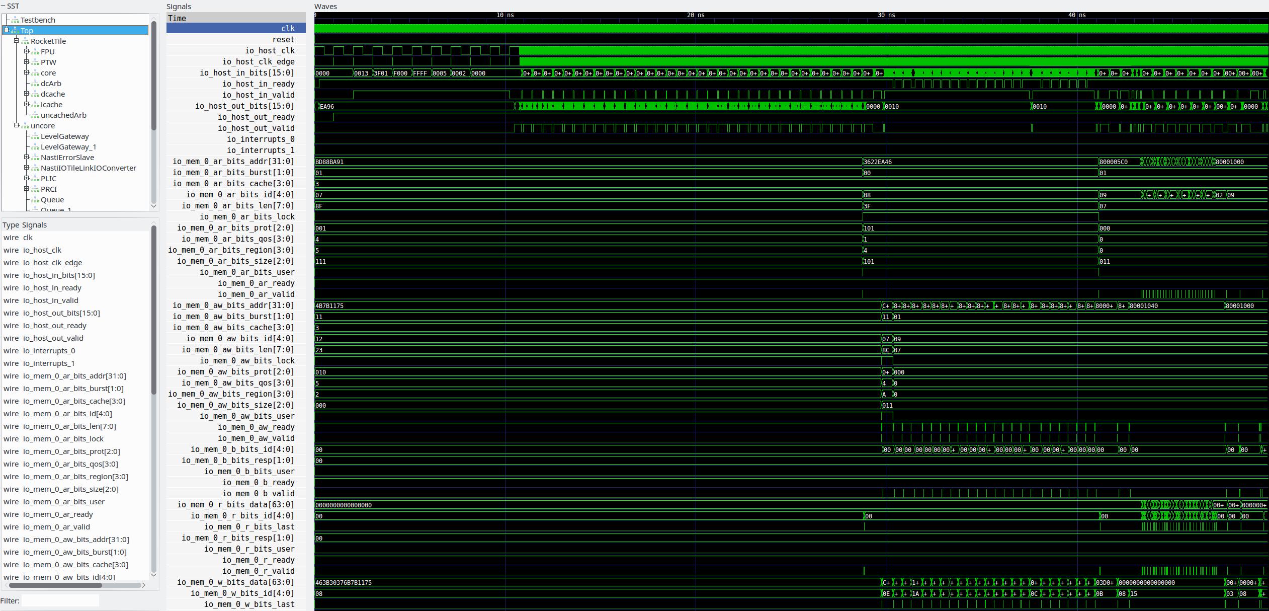 Генерация и тестирование ядра RISC-V - 2