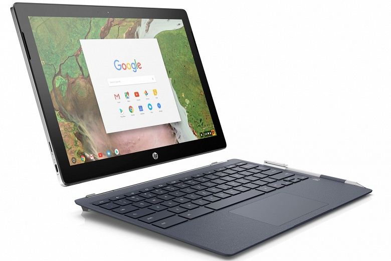 Первый гибридный хромбук HP Chromebook x2 оценён в 600 долларов и основан на CPU Intel Core m3 - 1
