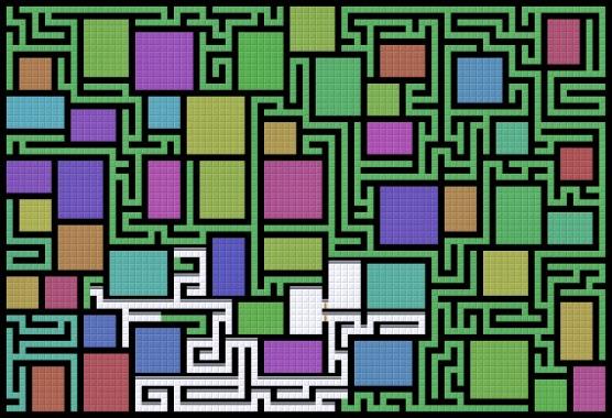 Процедурная генерация лабиринтов в Unity - 3