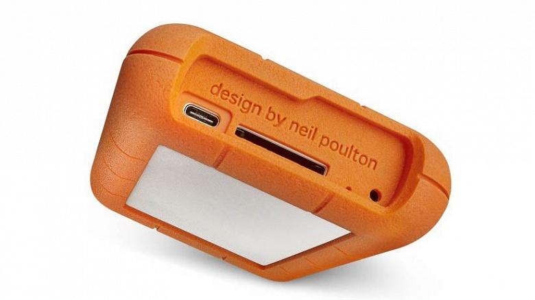 Защищенный внешний накопитель LaCie Rugged RAID Pro оснащен портом USB-C и слотом SD