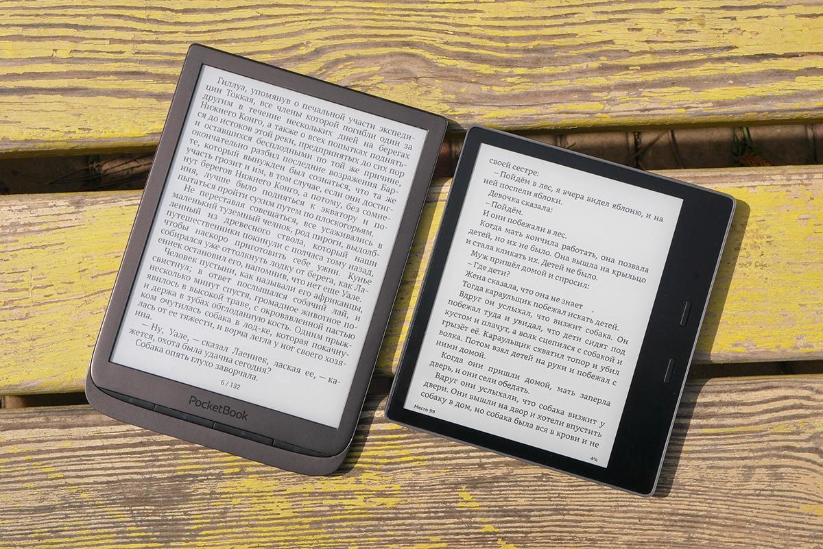 Битва титанов: сравнение флагманских ридеров PocketBook 740 и Amazon Kindle Oasis 2017 - 24