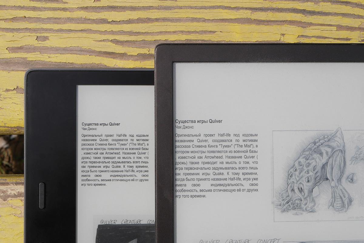 Битва титанов: сравнение флагманских ридеров PocketBook 740 и Amazon Kindle Oasis 2017 - 25