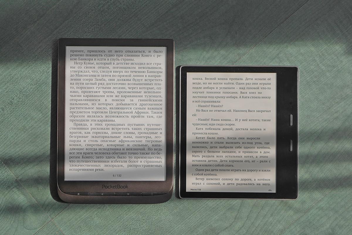 Битва титанов: сравнение флагманских ридеров PocketBook 740 и Amazon Kindle Oasis 2017 - 42