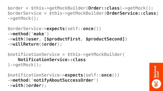 Держим дизайн системы под контролем, используя изолированное юнит-тестирование - 6