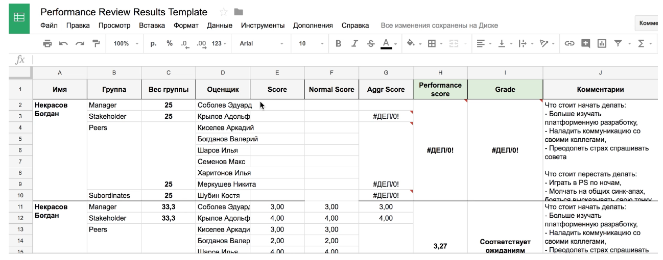 Улучшая performance review - 27