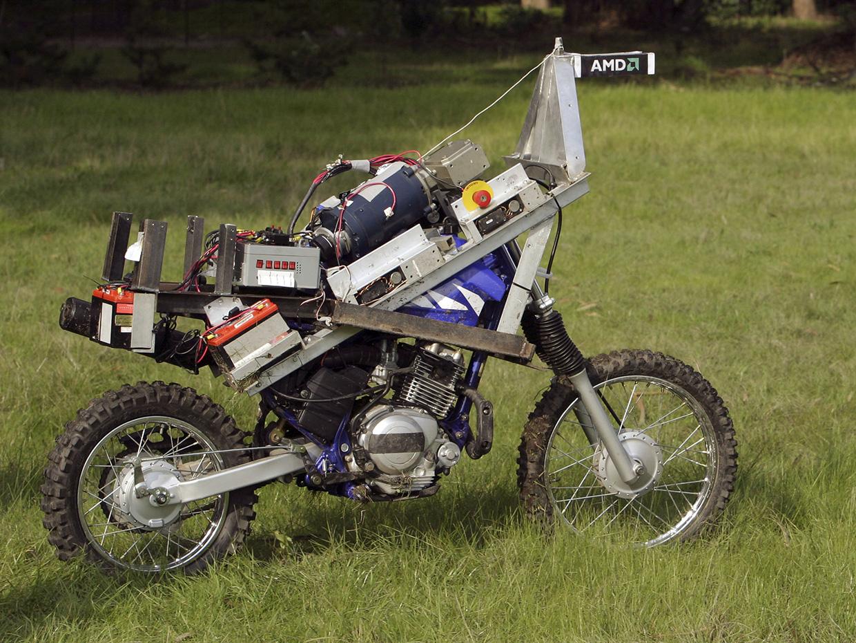 GhostRider: автономный мотоцикл, положивший начало карьере Энтони Левандовски - 1