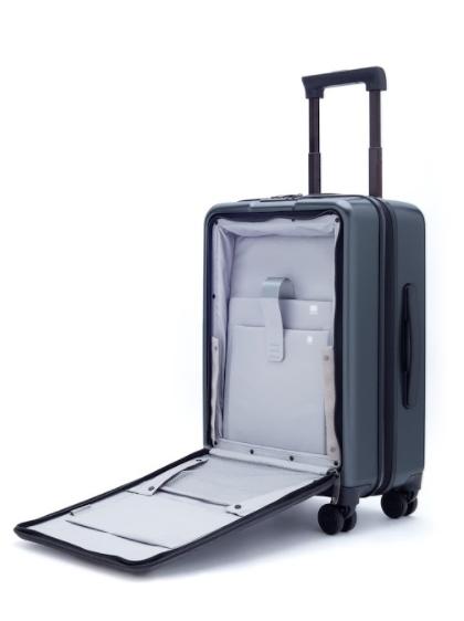 Чемодан Xiaomi 90Fun Passport Suitcase имеет отдельный отсек для гаджетов