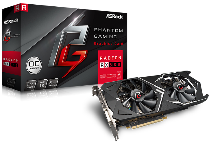 ASRock Phantom Gaming X Radeon RX 580 8G