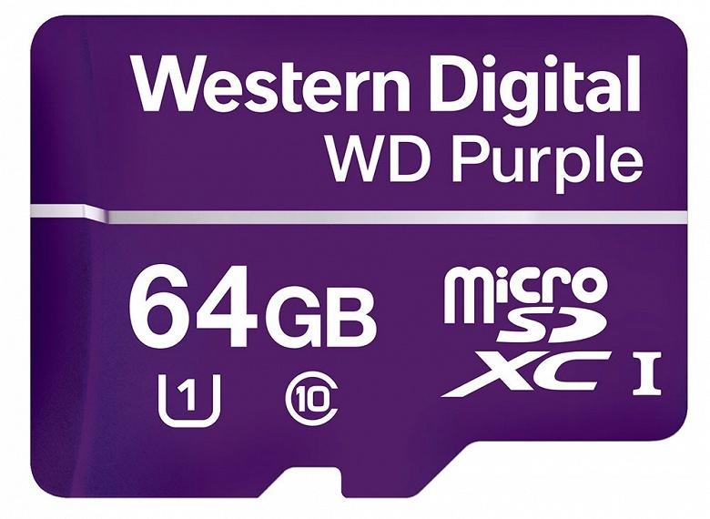Western Digital окрашивает карты памяти microSD в необычный цвет