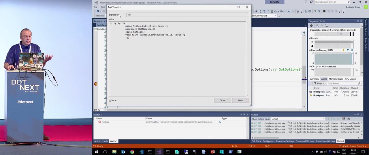 Генерация кода во время работы приложения: реальные примеры и техники - 36
