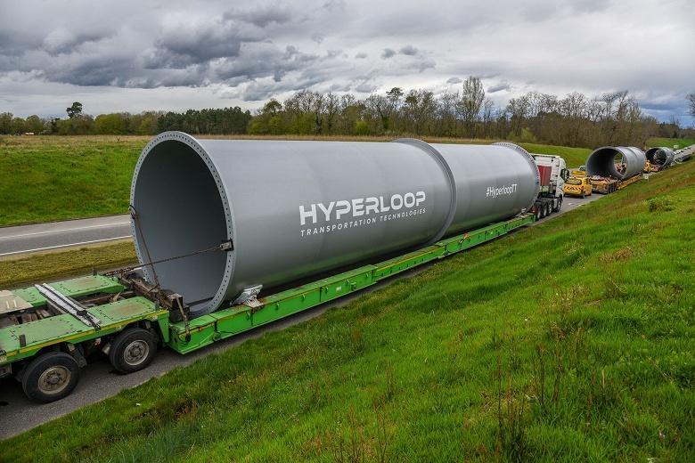 Компания Hyperloop Transportation Technologies только сейчас приступает к постройке первого тестового трека - 1