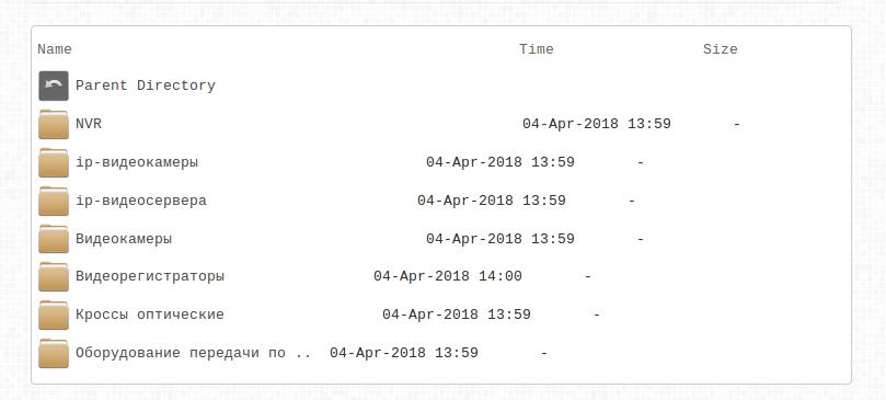 Красивый листинг файлов и директорий в nginx - 2