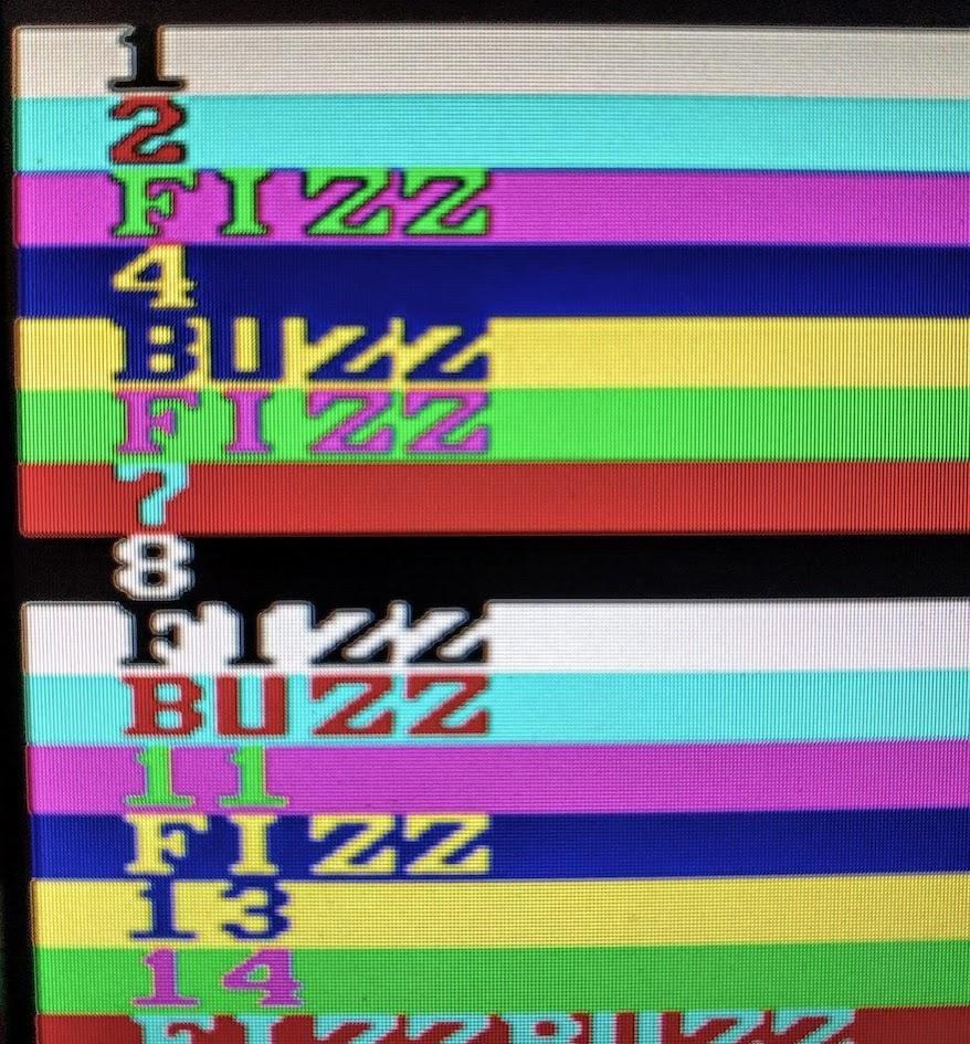 Решение FizzBuzz на FPGA с генерацией видео - 7