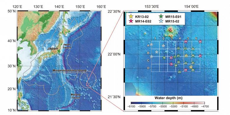 У берегов Японии нашли квазибесконечное месторождение редкоземельных металлов - 2